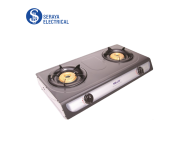 Milux Double Burner Gas Stove YS-3030B