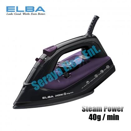 Elba Ceramic Coating Soleplate Steam Iron ESI-H2223C(VL)