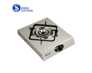 Milux Double Tornado Flame Stainless Steel Stove MSS-1800
