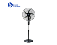 """Elba 18"""" Stand Fan with 5 ABS Blades ESF-G1880TM(BK)"""